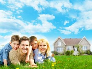happy-family-secure-new-home